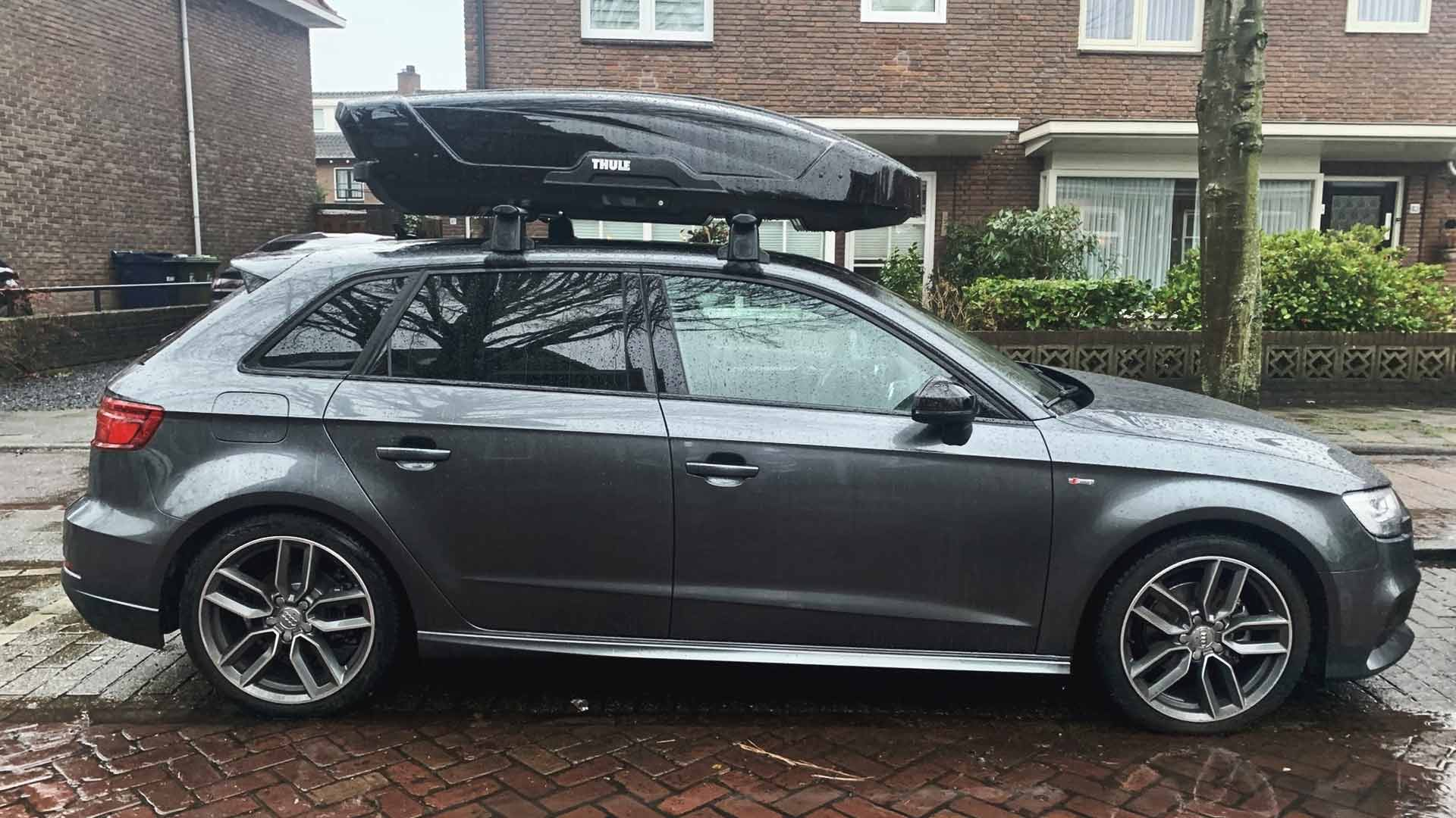 audi a3 rooftop cargo box