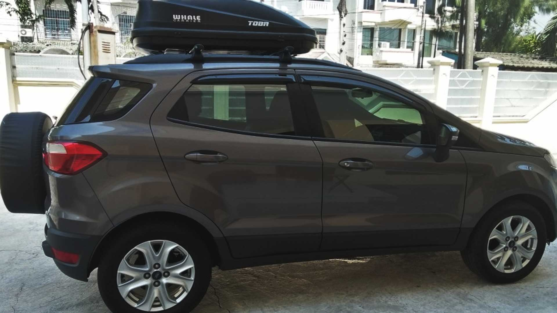 ford ecosport rooftop cargo box