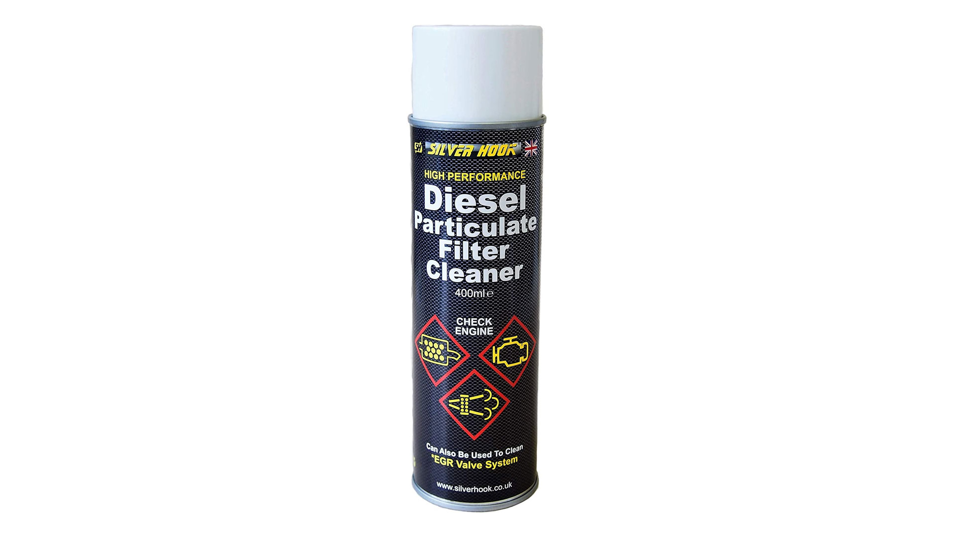 silverhook dpf cleaner spray