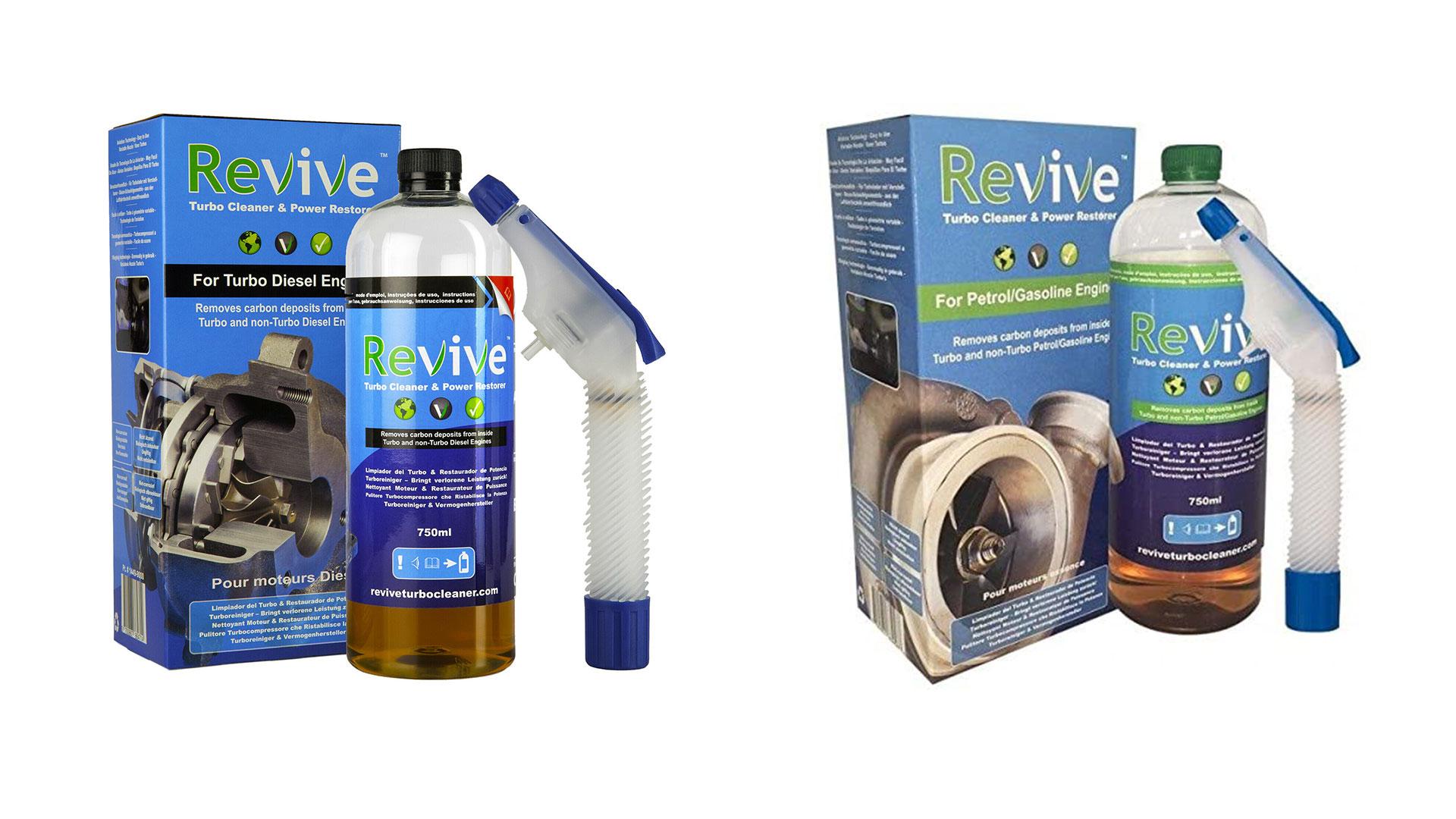 revive turbo cleaner spray for petrol & diesel