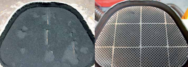 dpf cleaner before and after