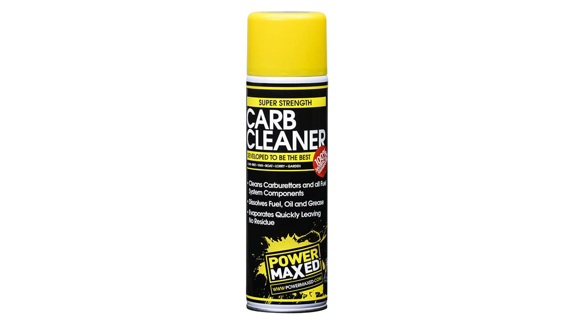 power maxed carburettor cleaner