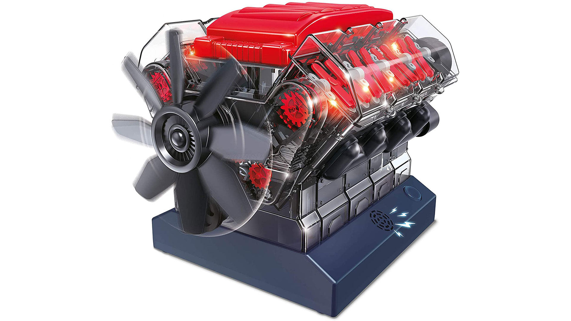 buki france v8 model engine