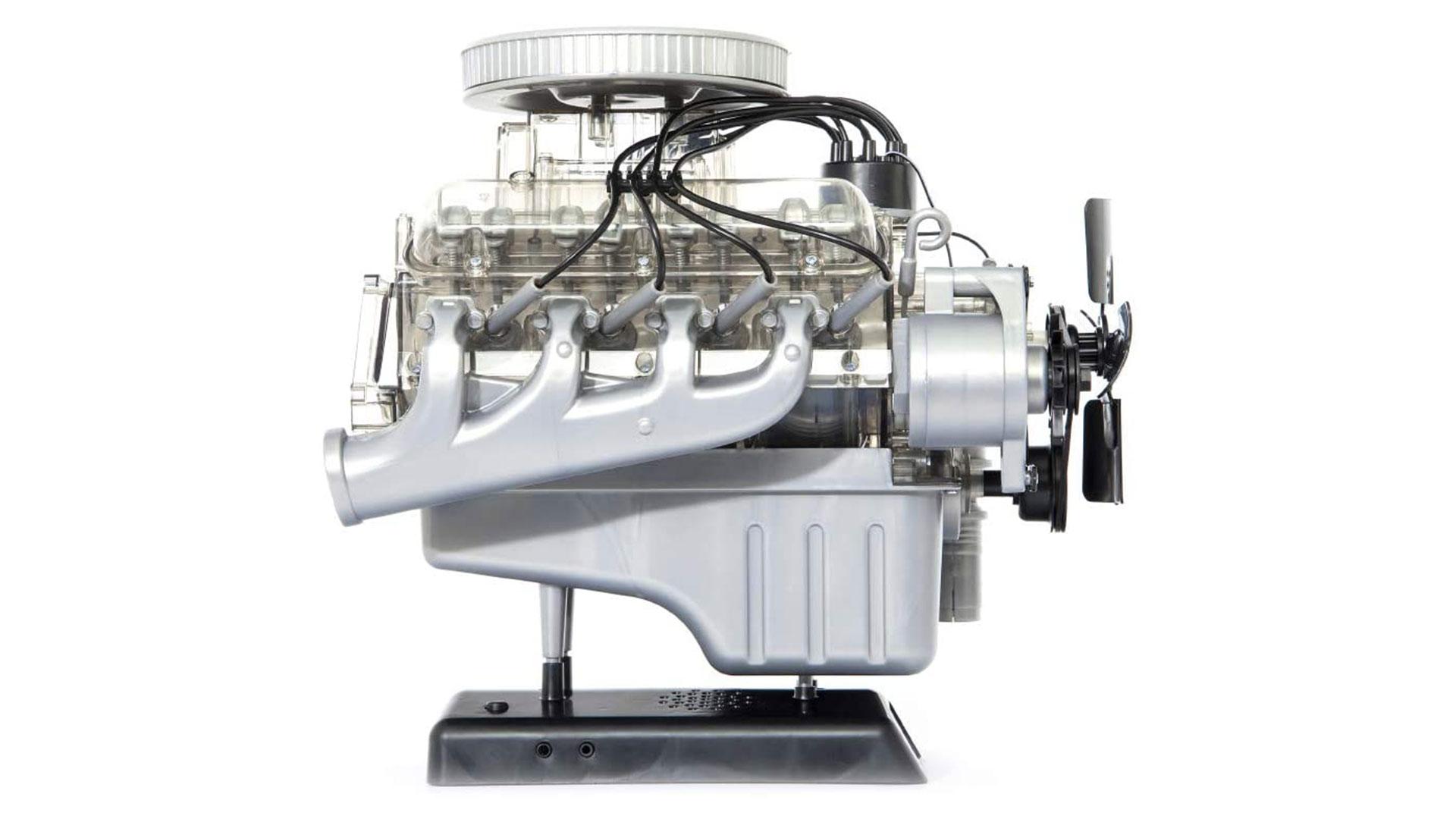 franzis ford mustang v8 model engine
