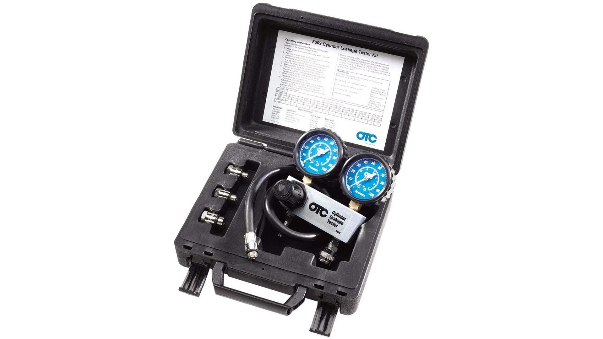 otc cylinder leakage tester