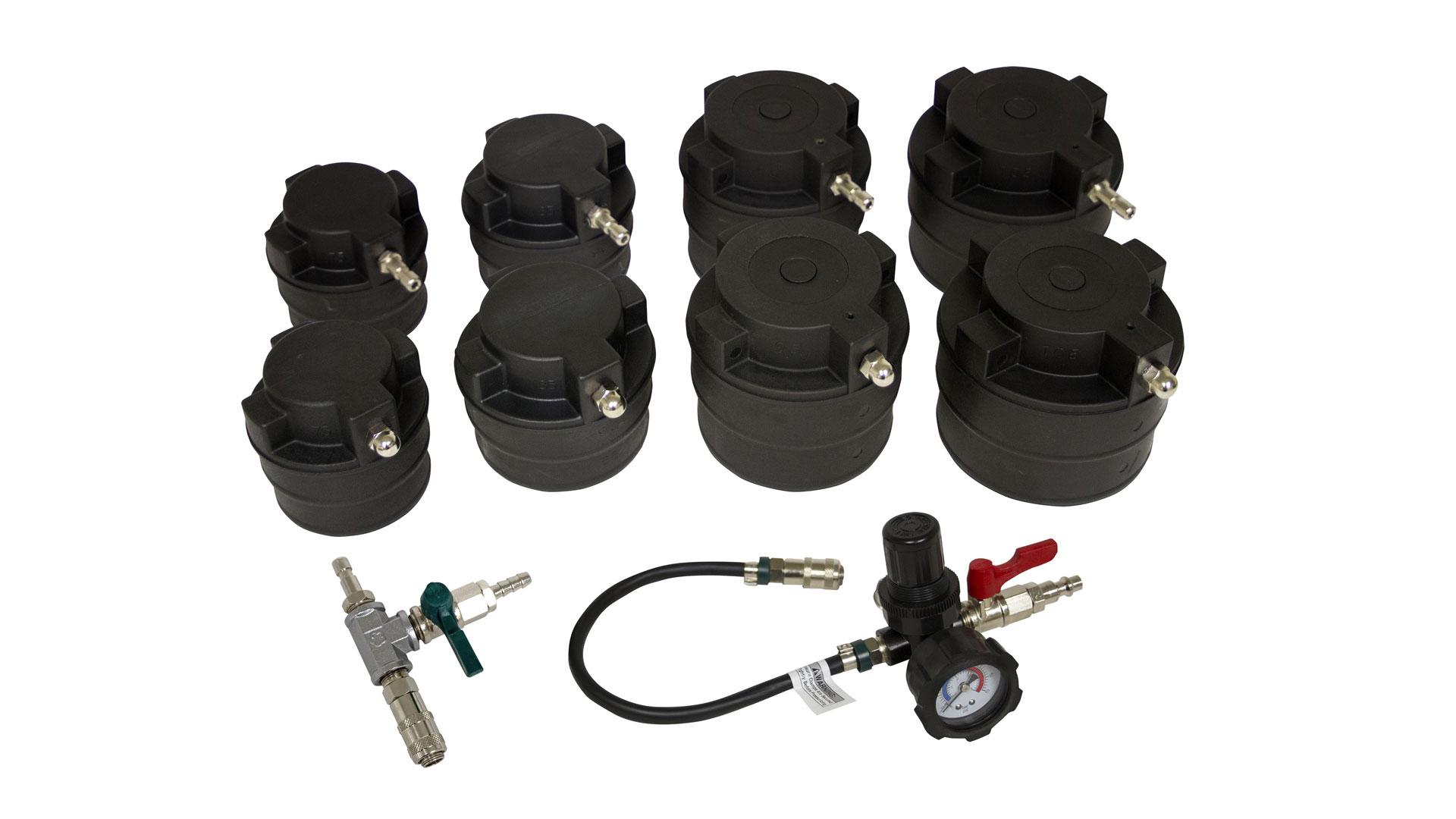 lisle 69930 hd turbo test kit with smoke adapter