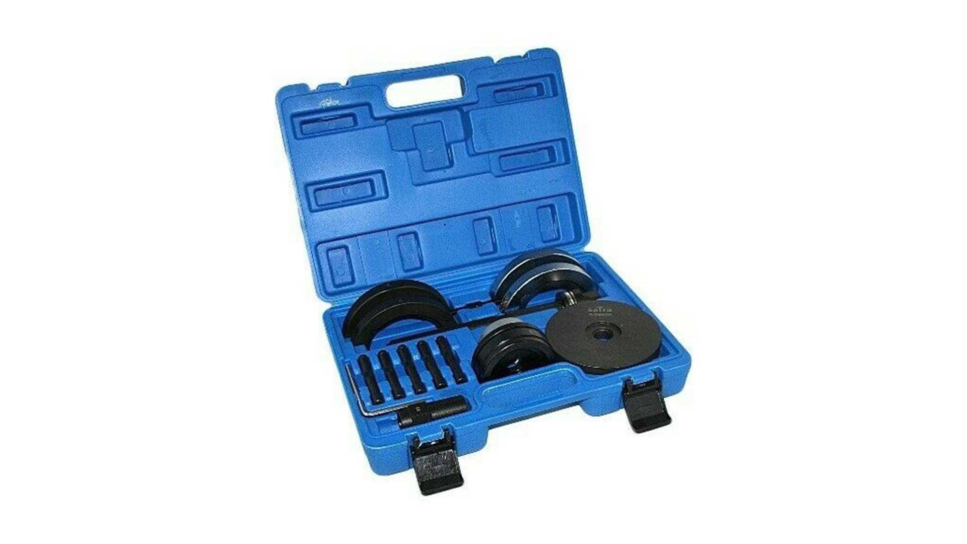 asta tools satra s-xb85r wheel hub bearing removal tool set
