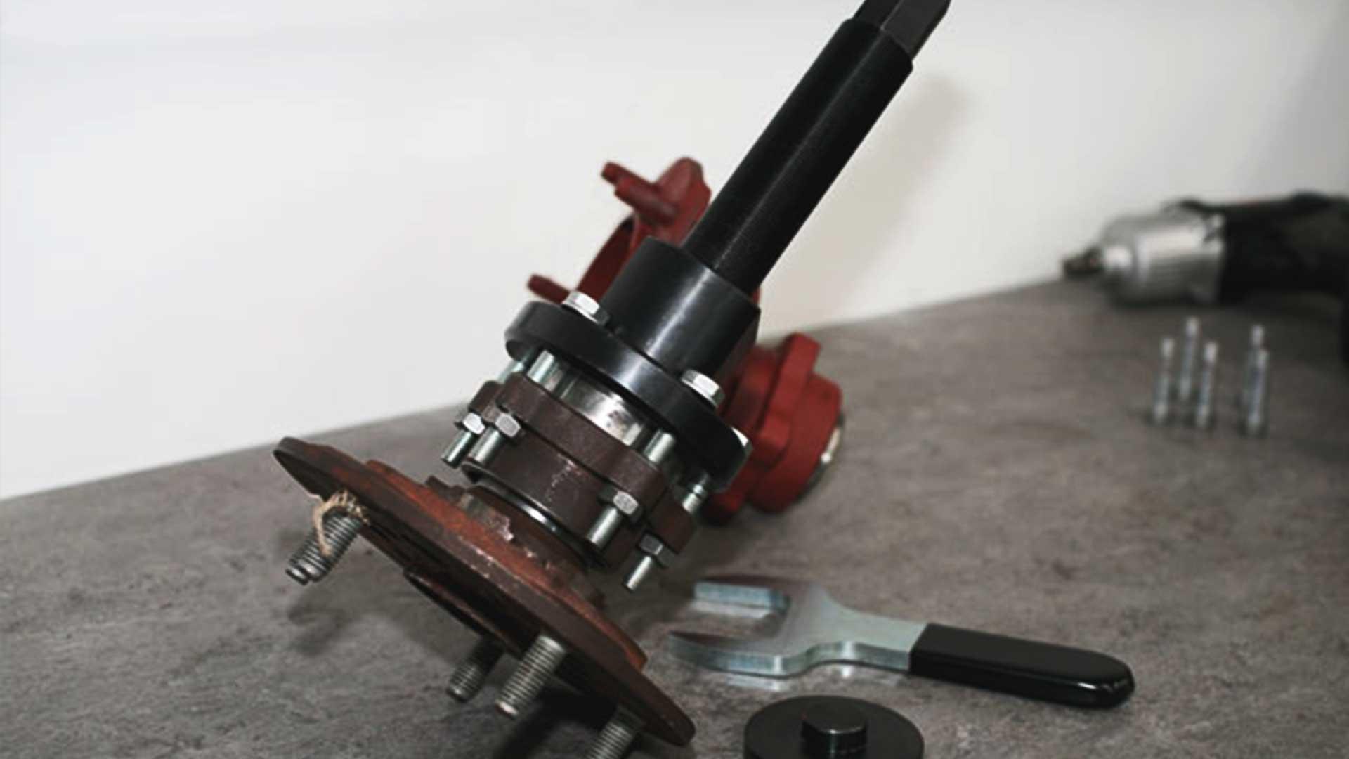 ford transit wheel bearing tool
