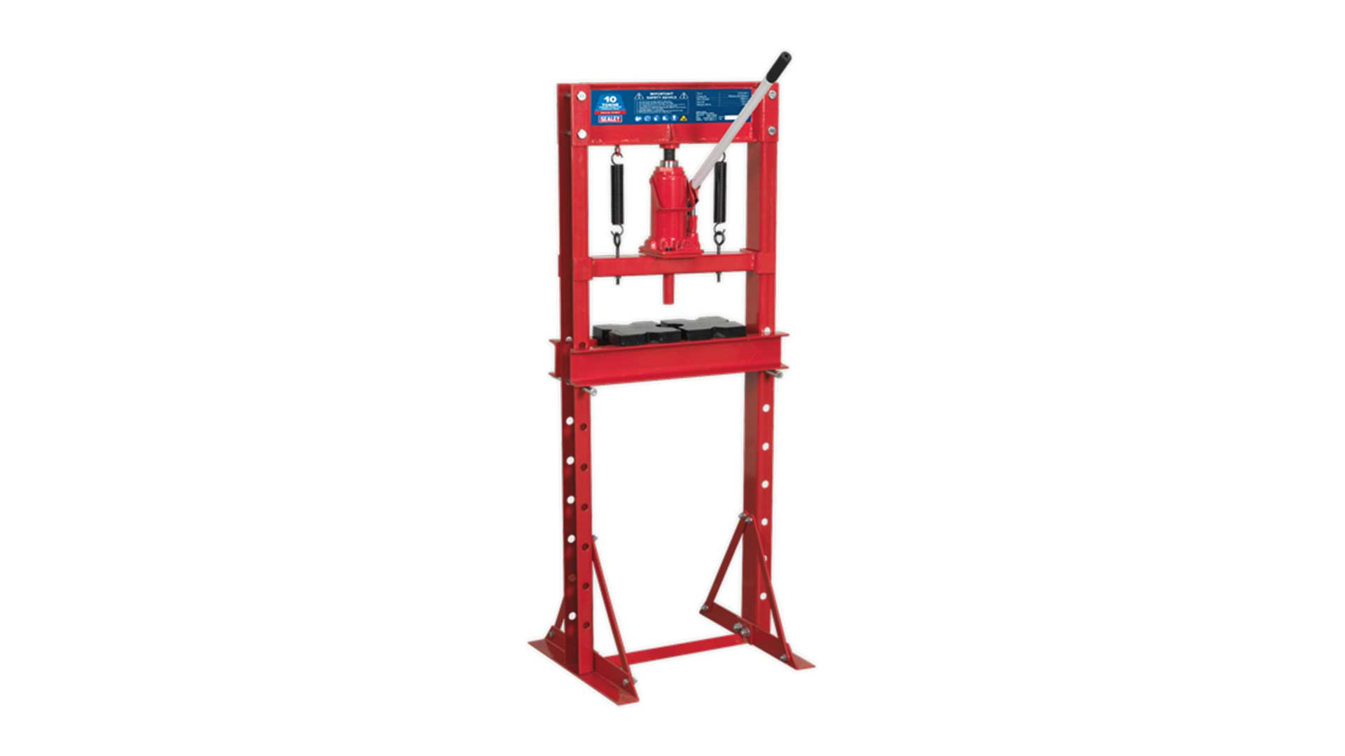sealey yk10ecf economy floor type hydraulic press