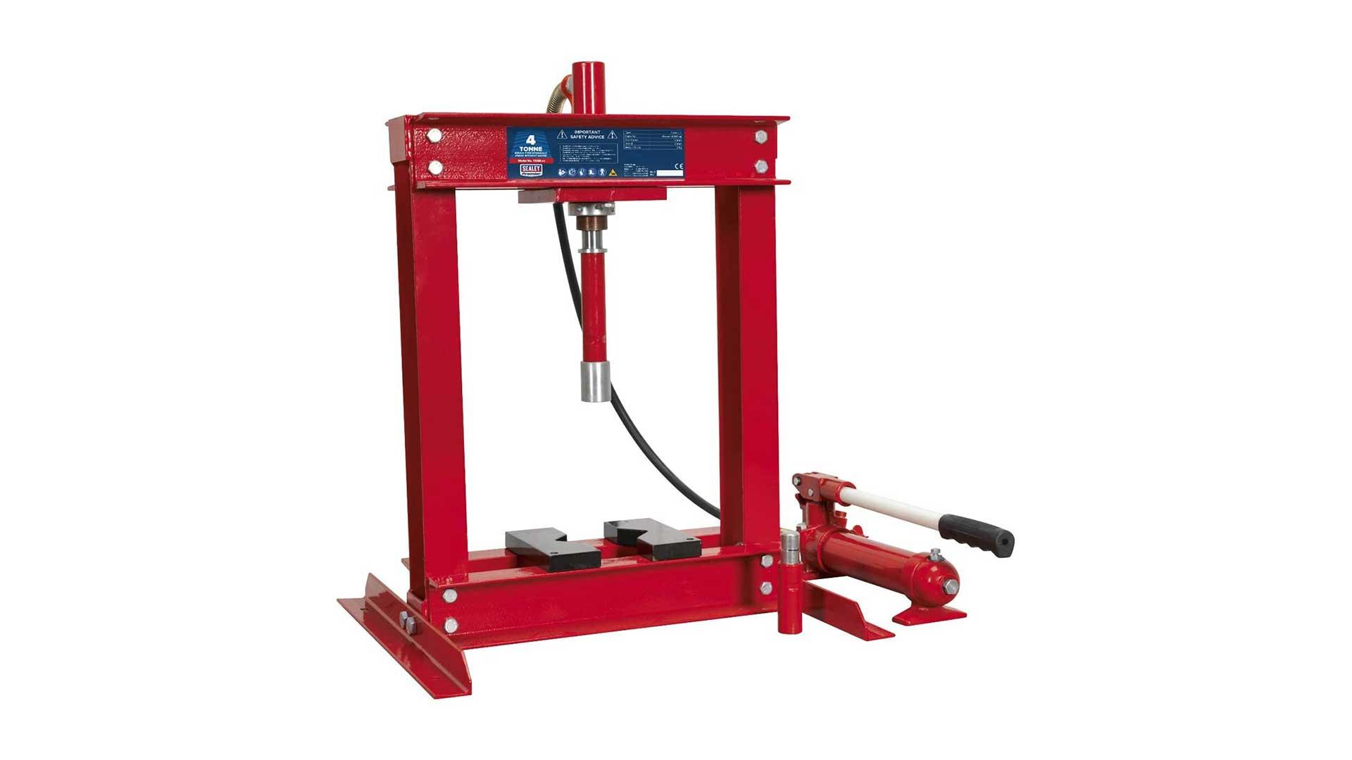 sealey yk4b hydraulic press bench type