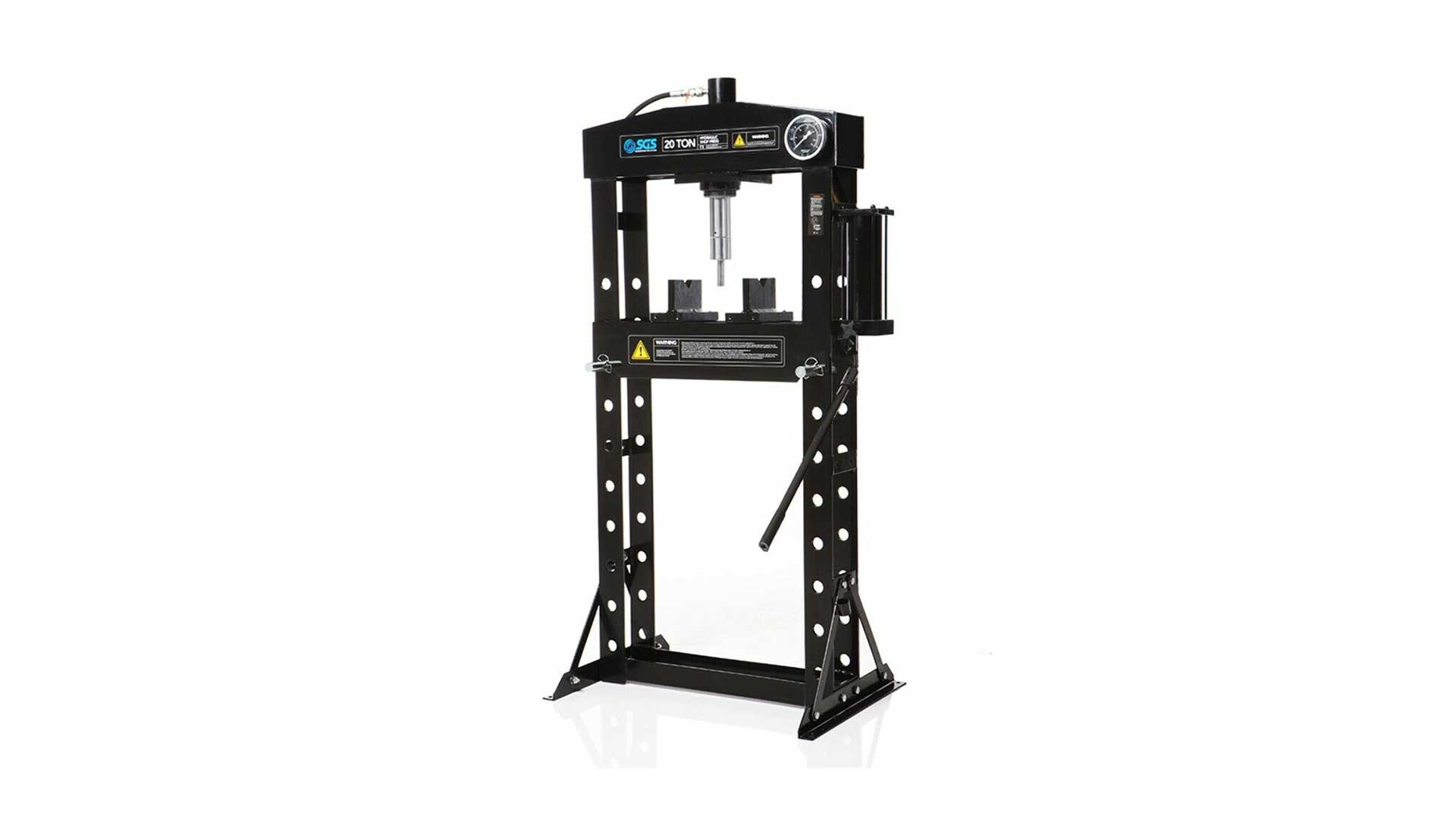 sgs hhp20 20 tonne hydraulic press