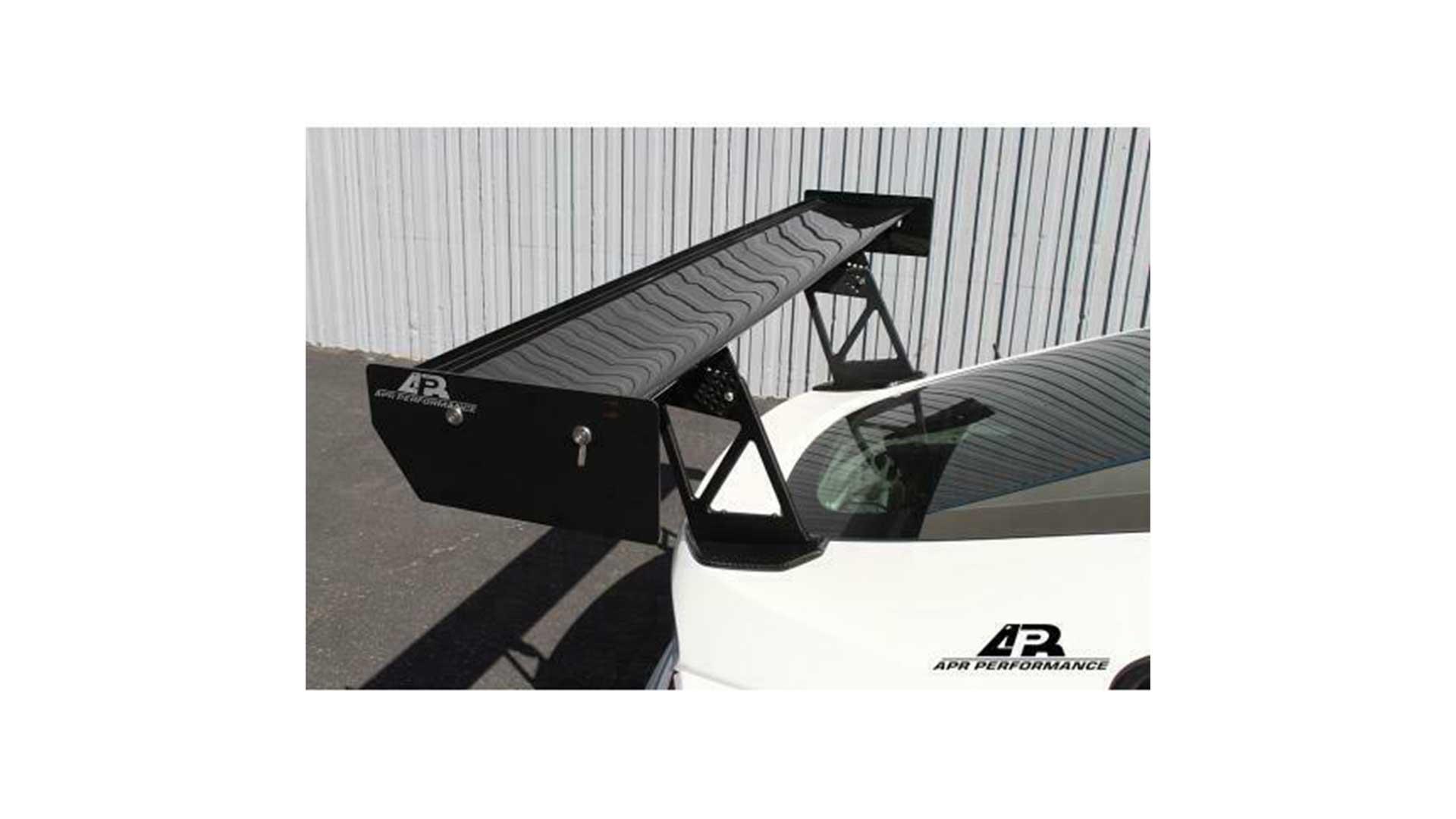 apr bmw z4 e86 carbon fibre gt-250 rear spoiler as-206141
