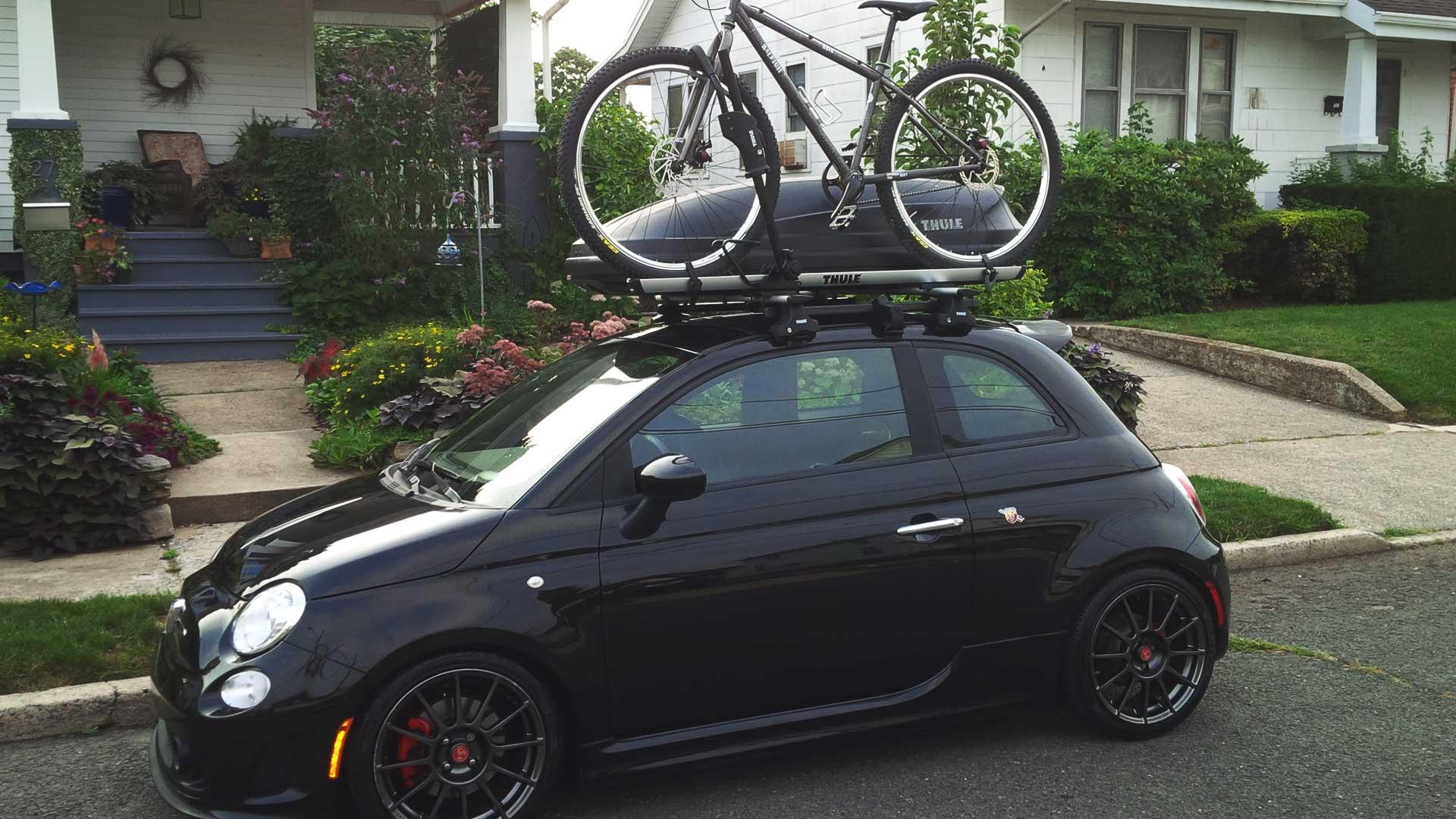 abarth 595 bike rack