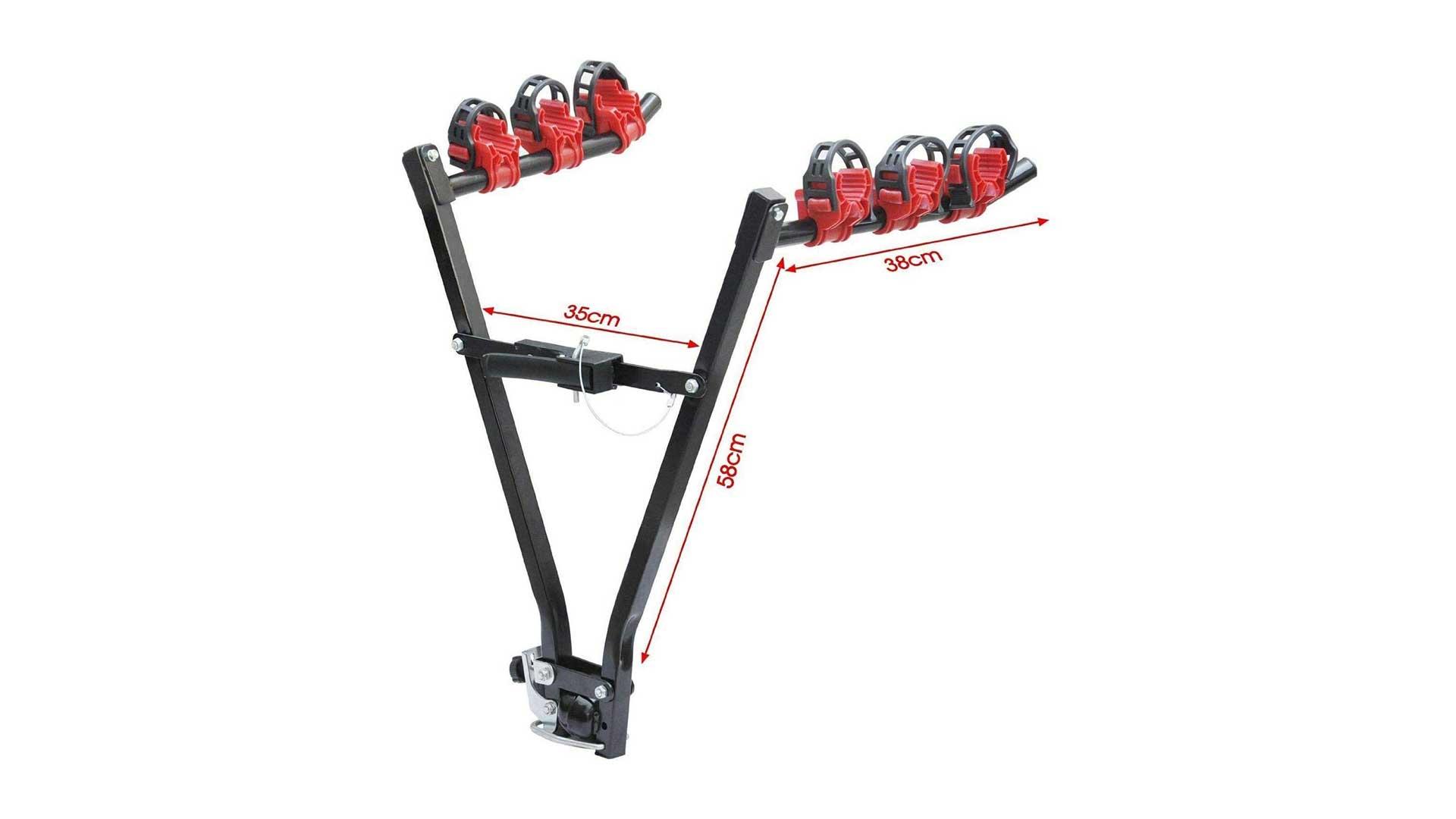 aleawol towbar mounted bike rack al-028-1