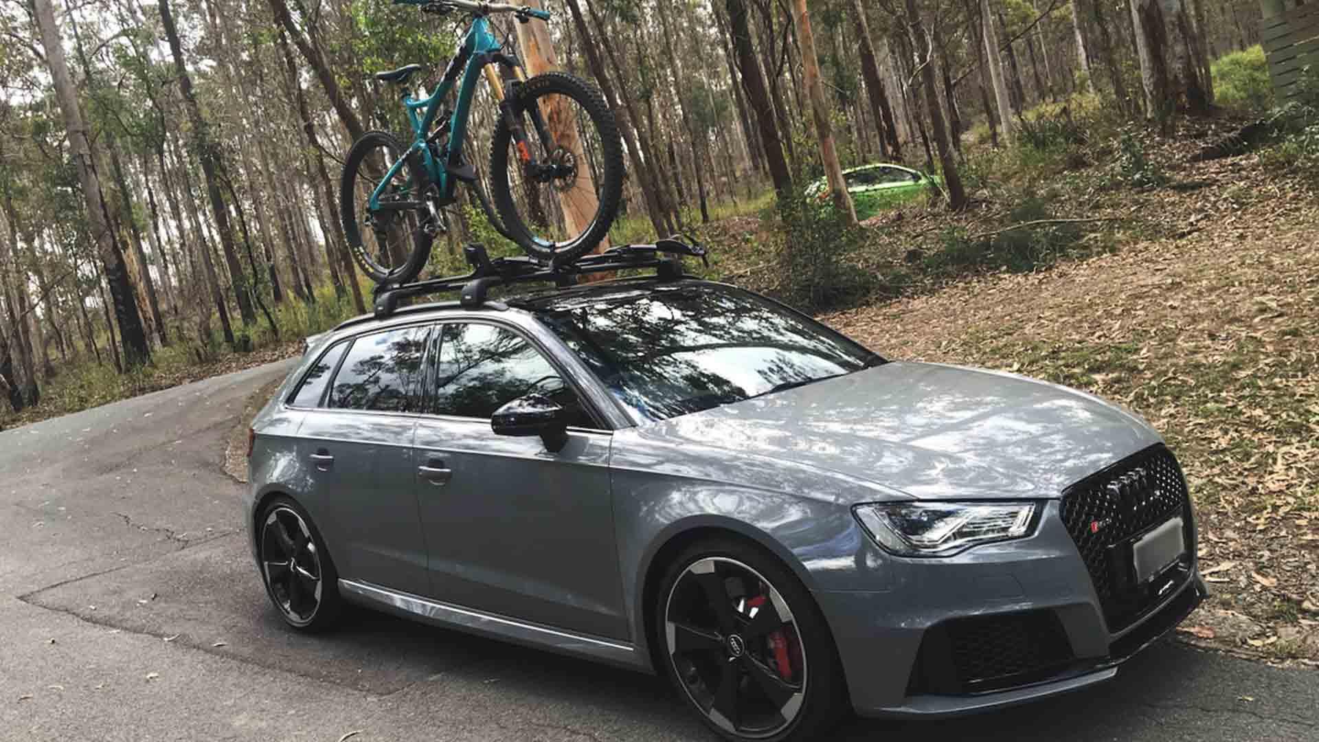audi rs3 bike rack