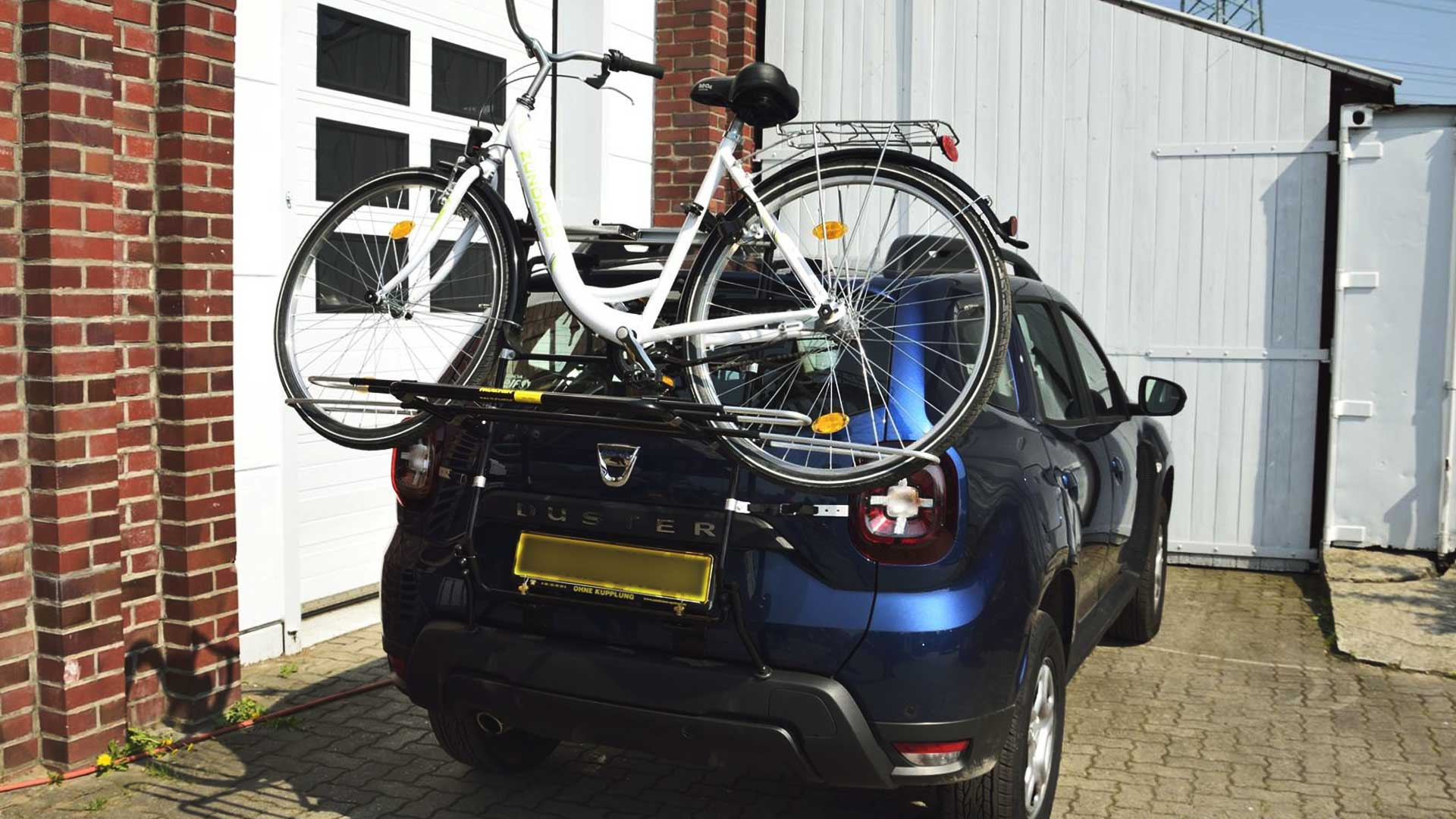 dacia duster bike rack