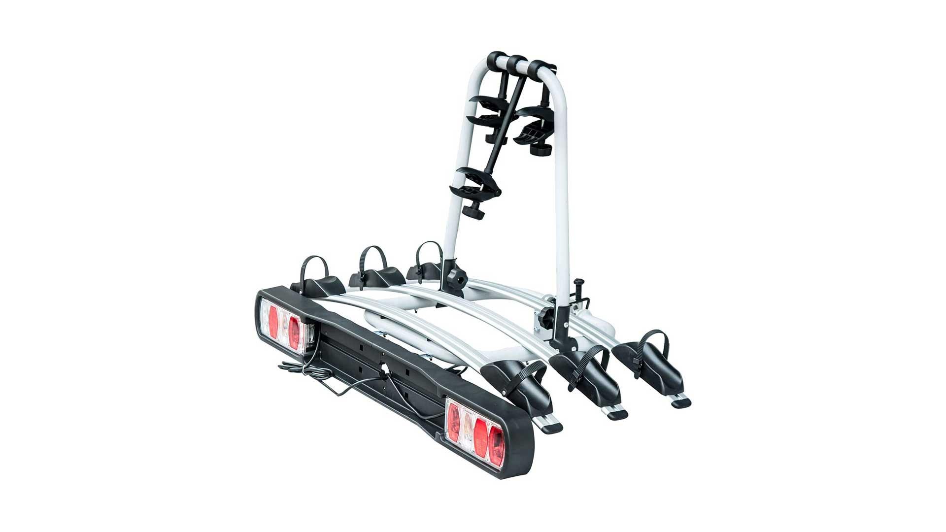 homcom tow bar bike rack b4-0094