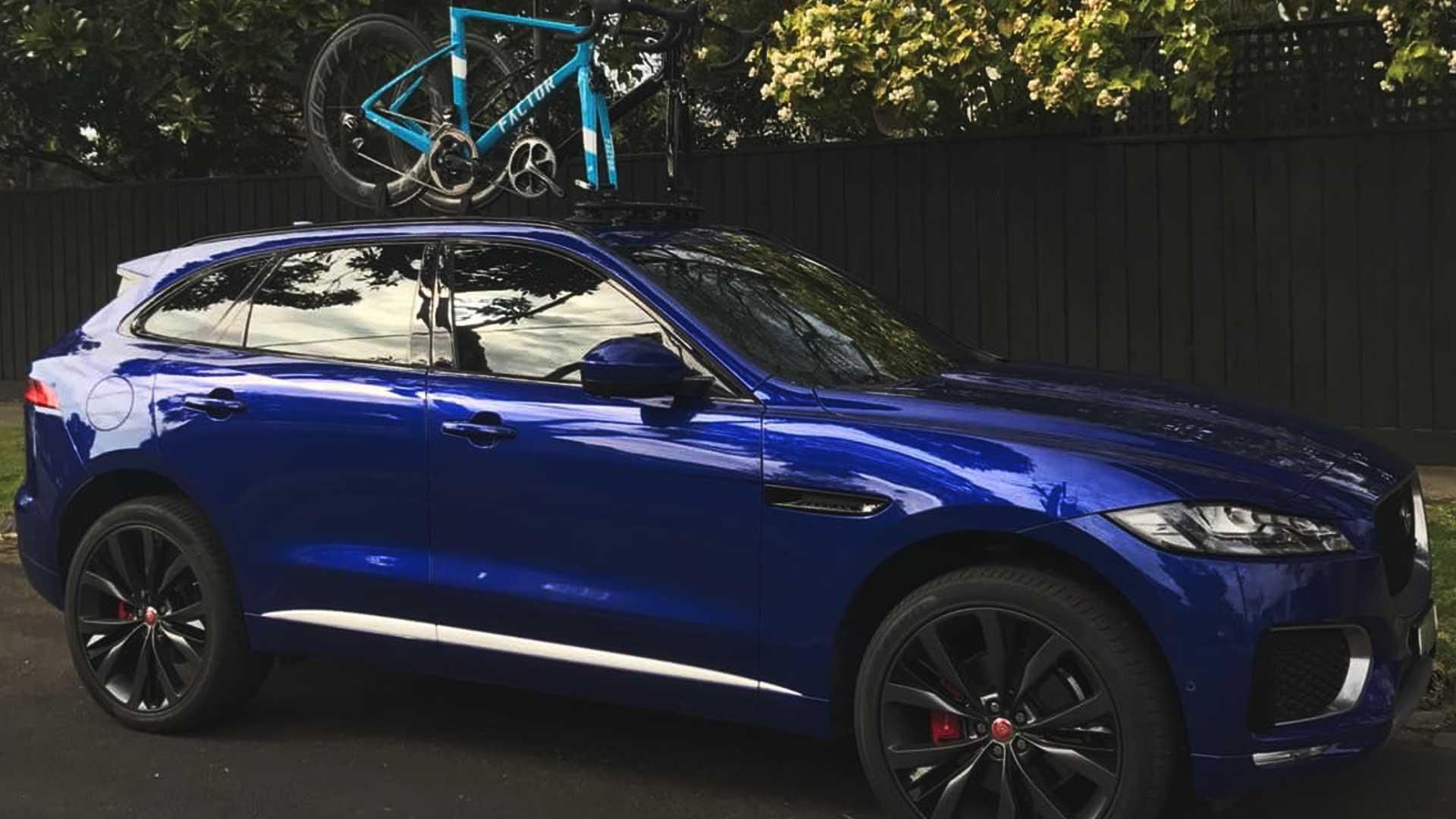 jaguar f-pace bike rack