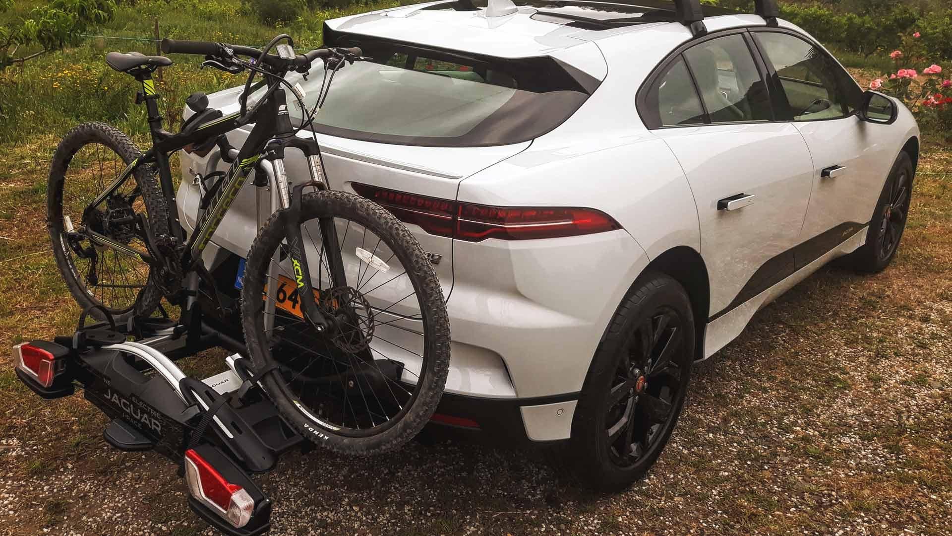 jaguar i-pace bike rack