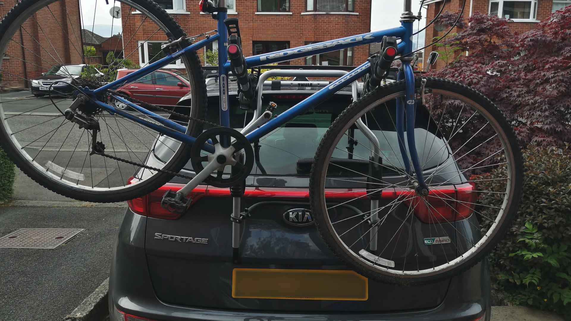 kia sportage bike rack