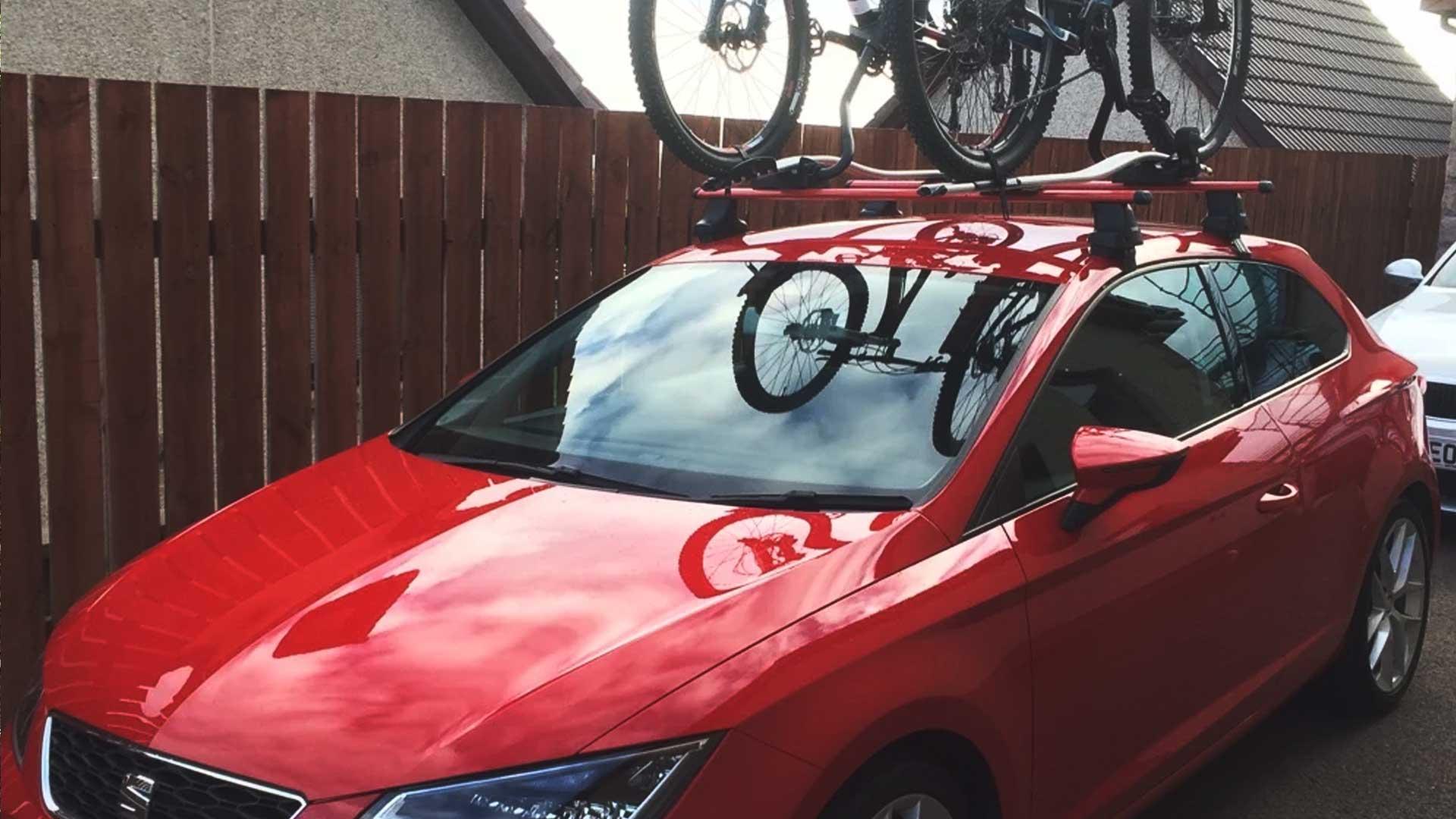 seat ibiza bike rack