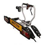 witter bolt-on towbar mounted 2 bike carrier zx202
