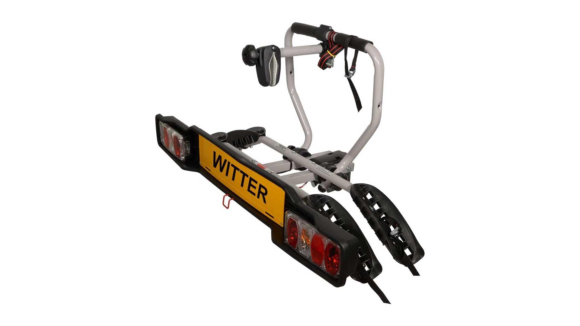 witter towbar mounted bike rack zx202