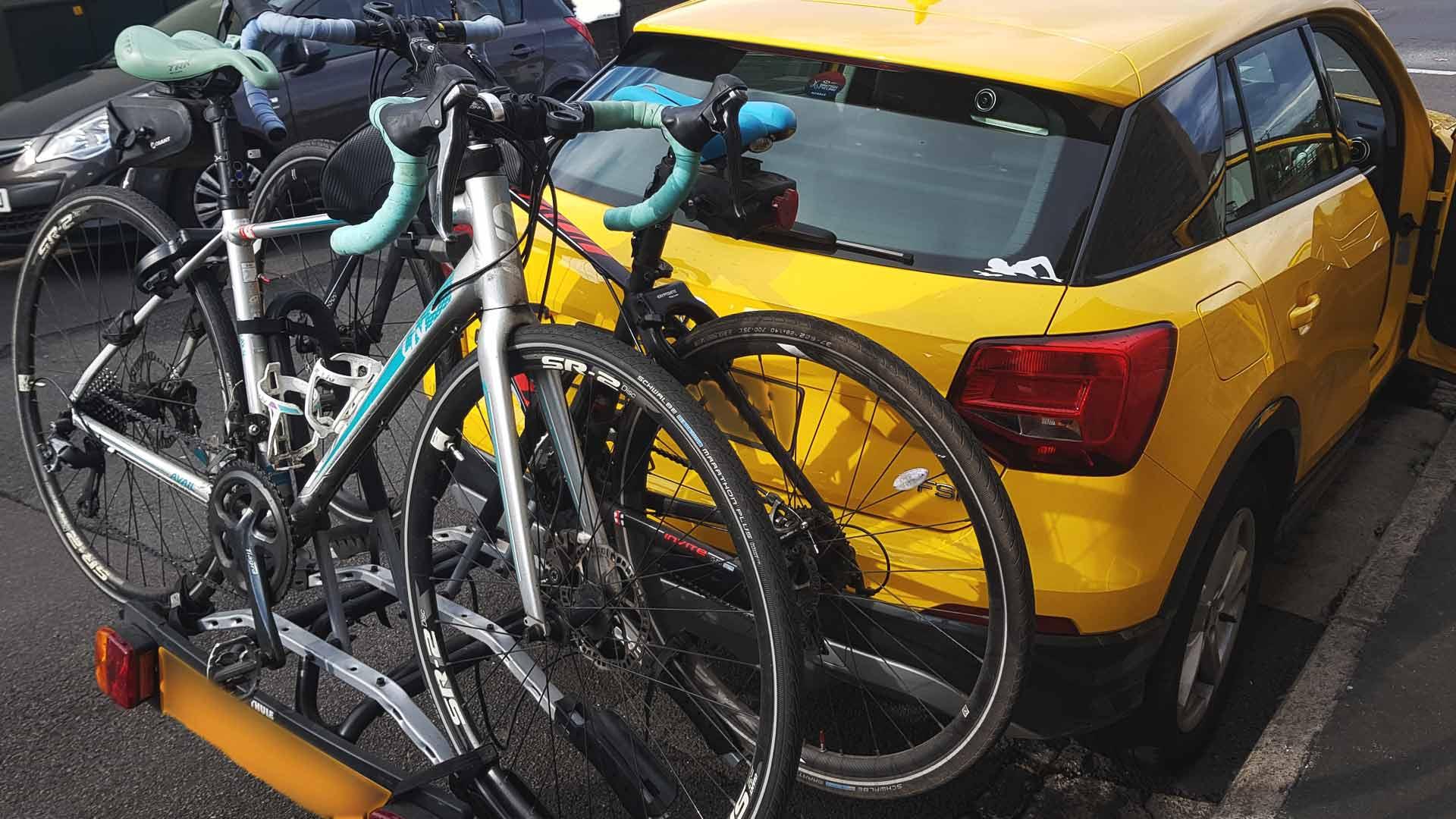 audi q2 bike rack