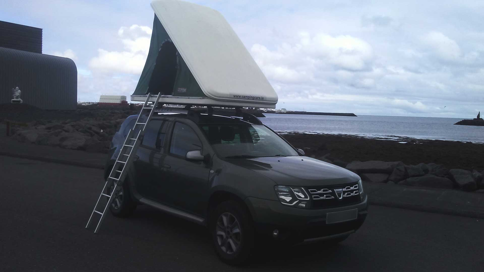 dacia duster roof tent