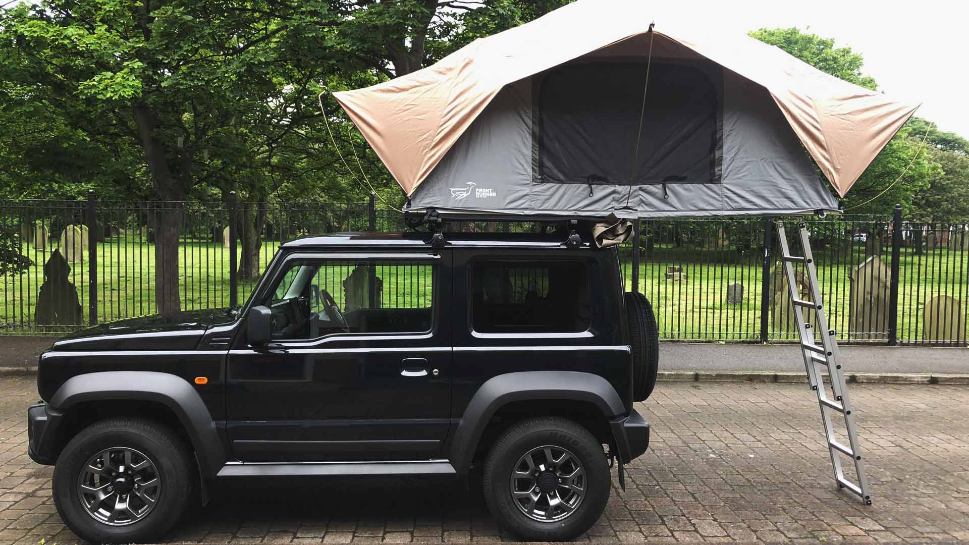 suzuki jimny roof tent