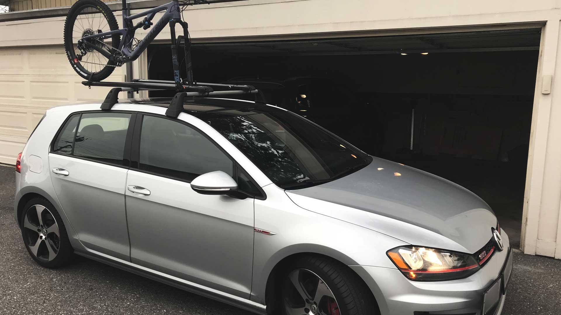volkswagen golf bike rack