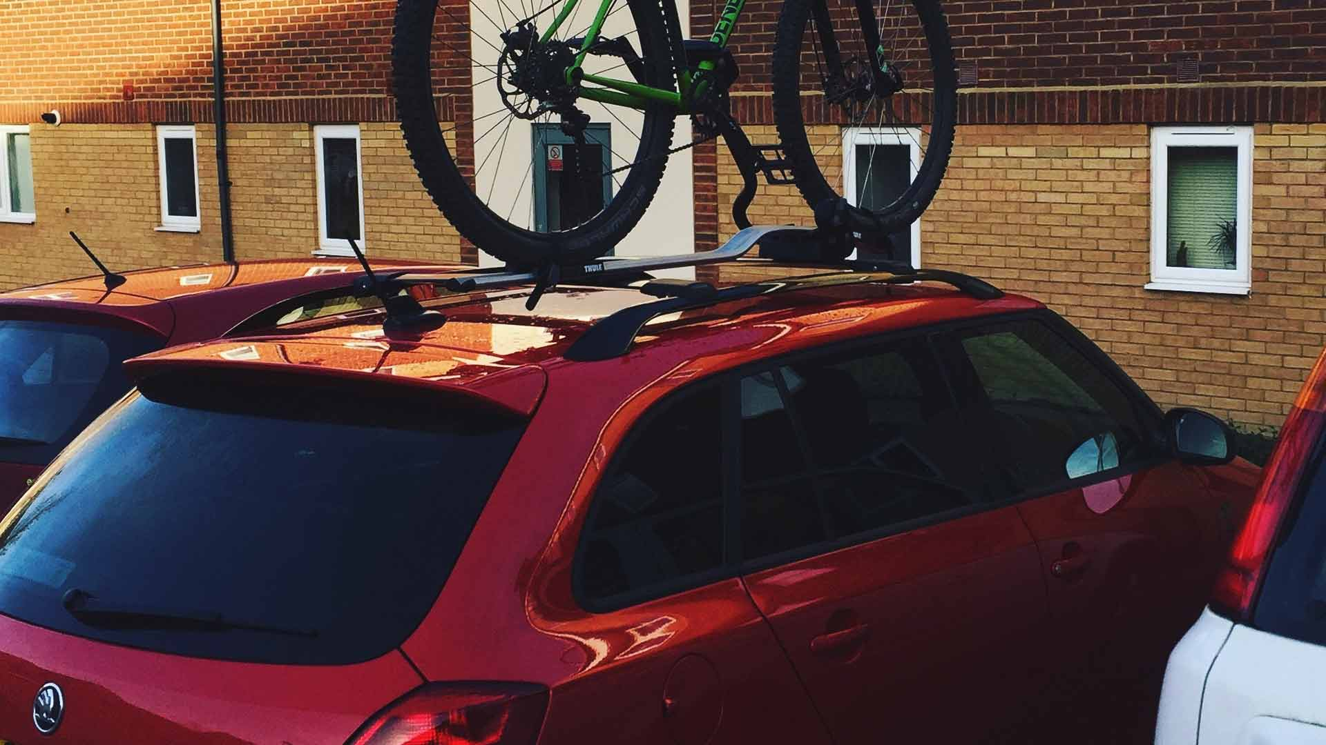 skoda fabia bike rack