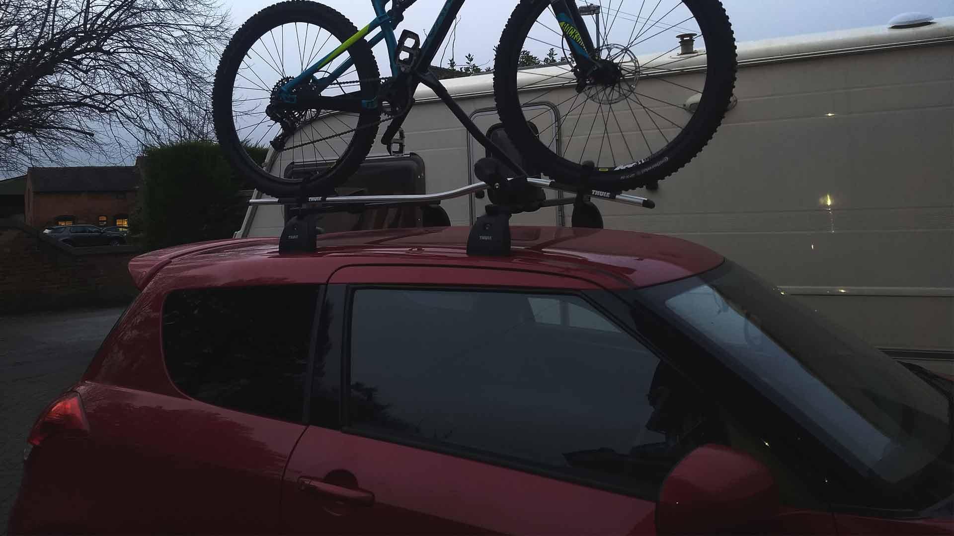 suzuki swift bike rack