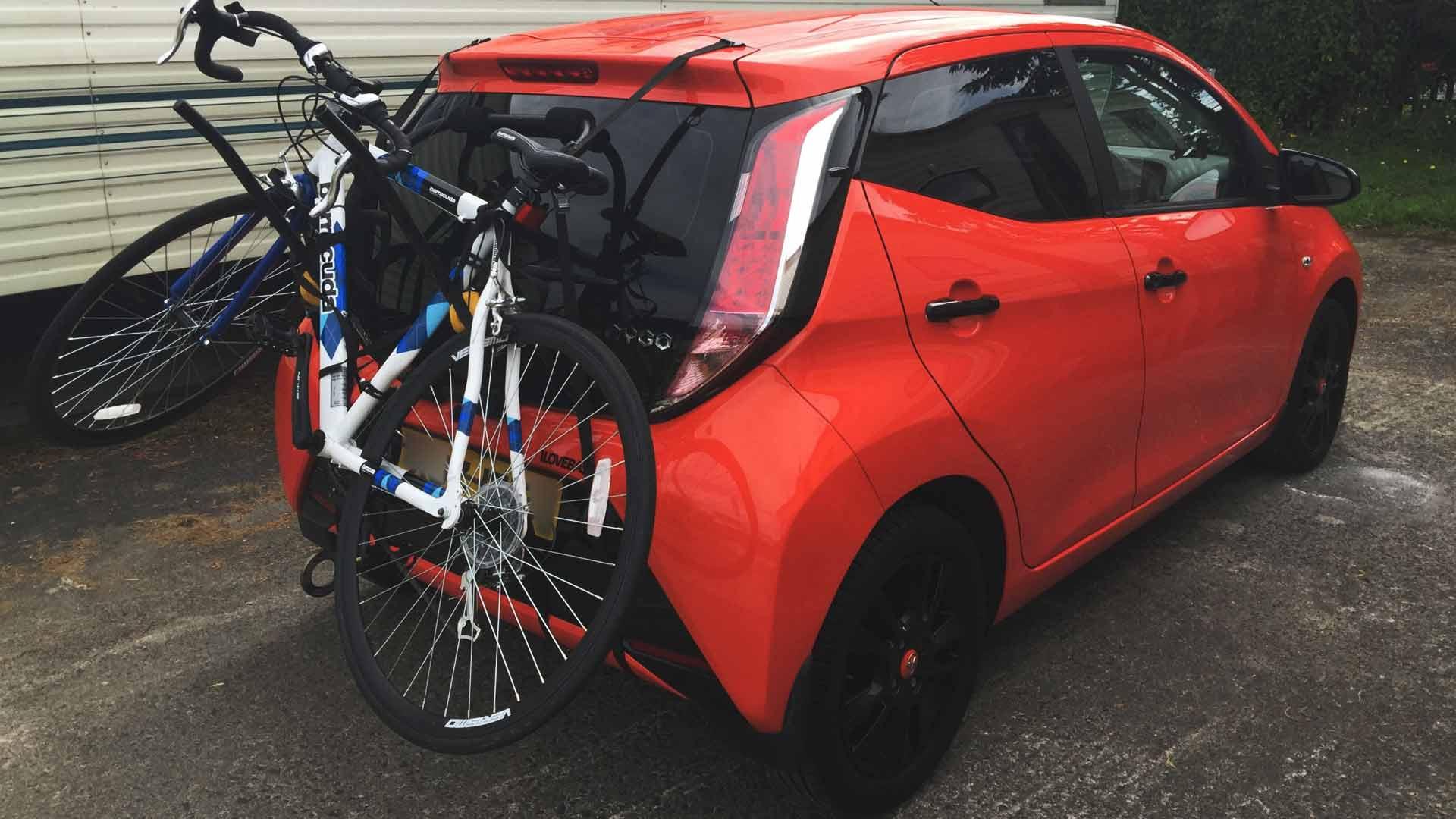toyota aygo bike rack