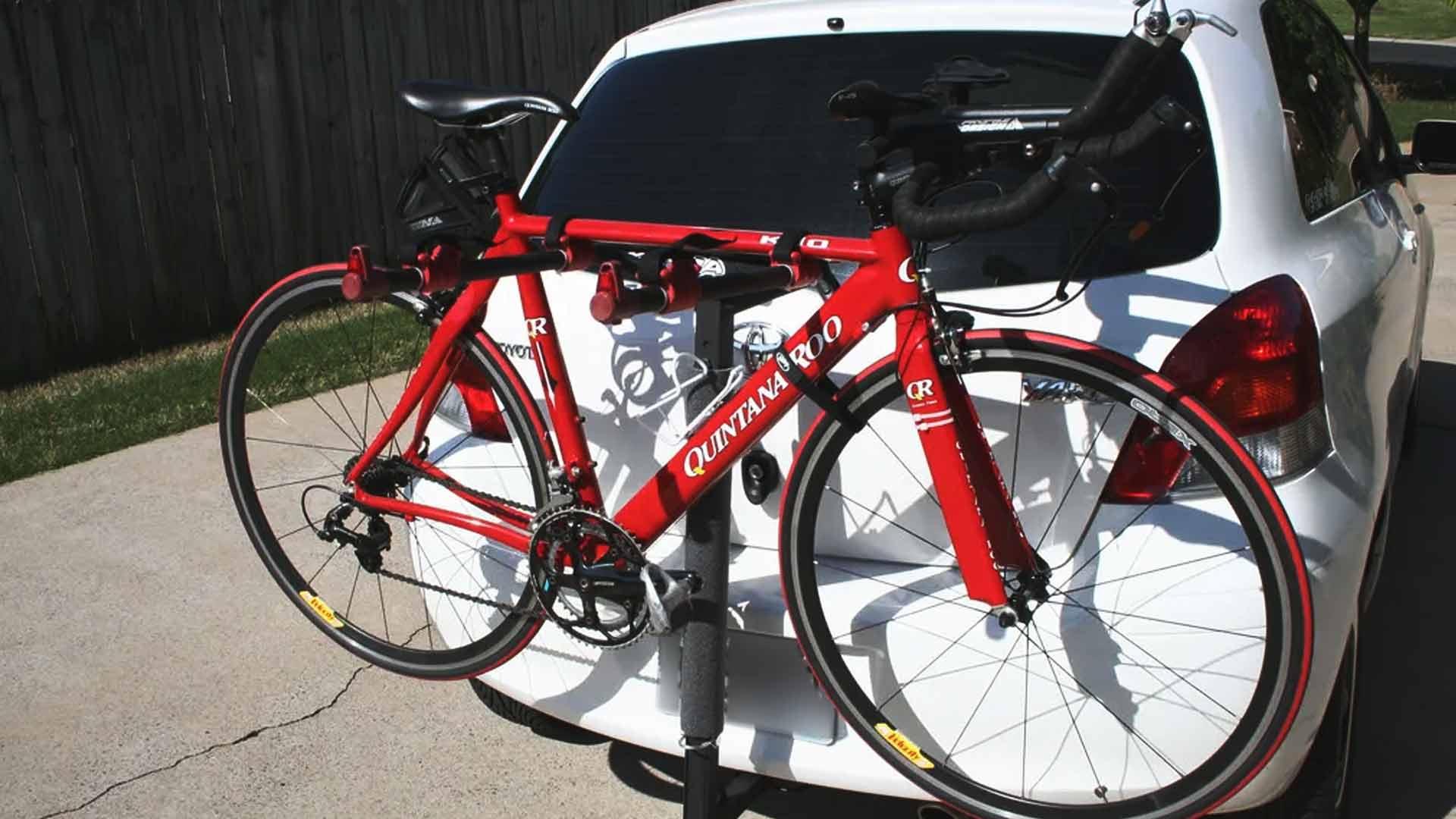 toyota yaris bike rack
