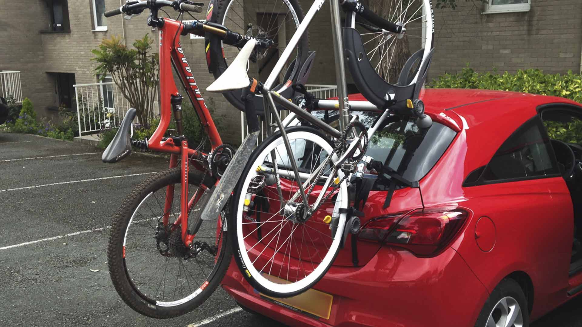 vauxhall corsa bike rack