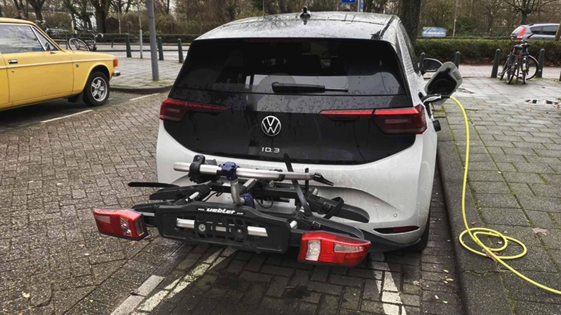 volkswagen id3 bike rack