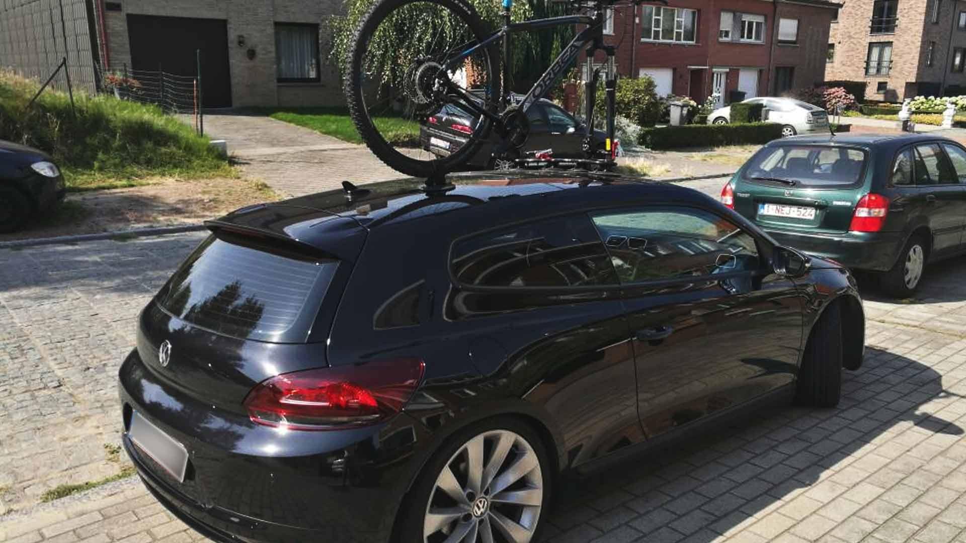 volkswagen scirocco bike rack