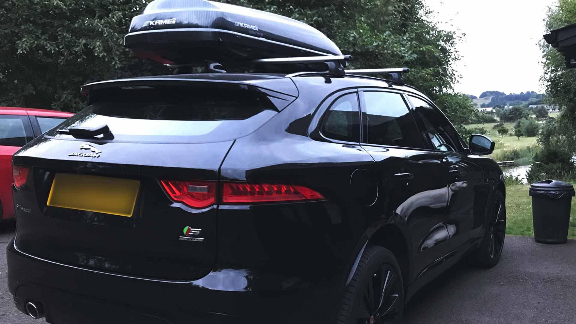 jaguar f-pace roof box