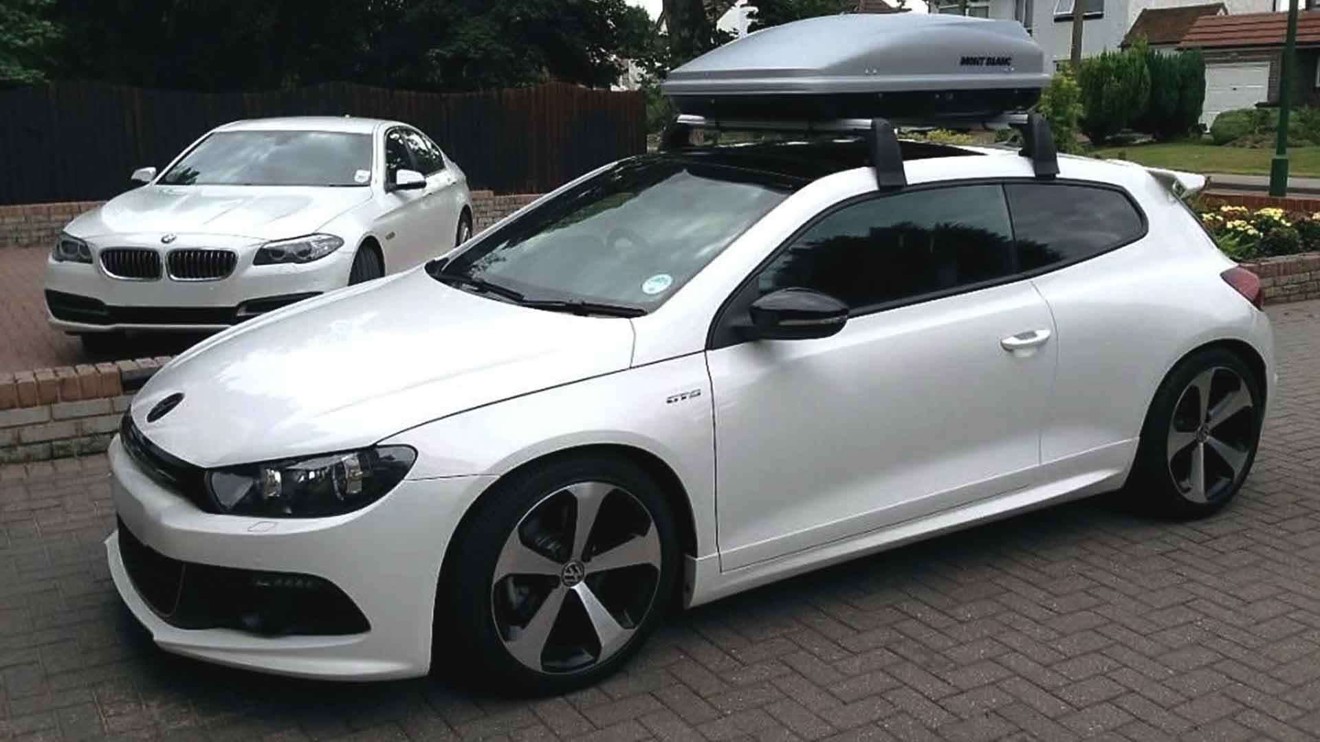 volkswagen scirocco roof box
