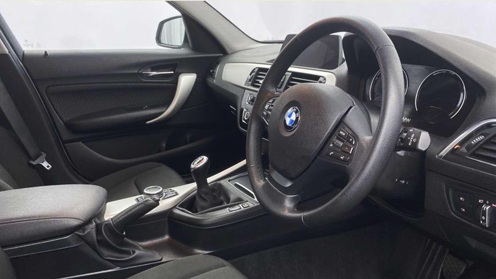 bmw 1 series steering wheel lock