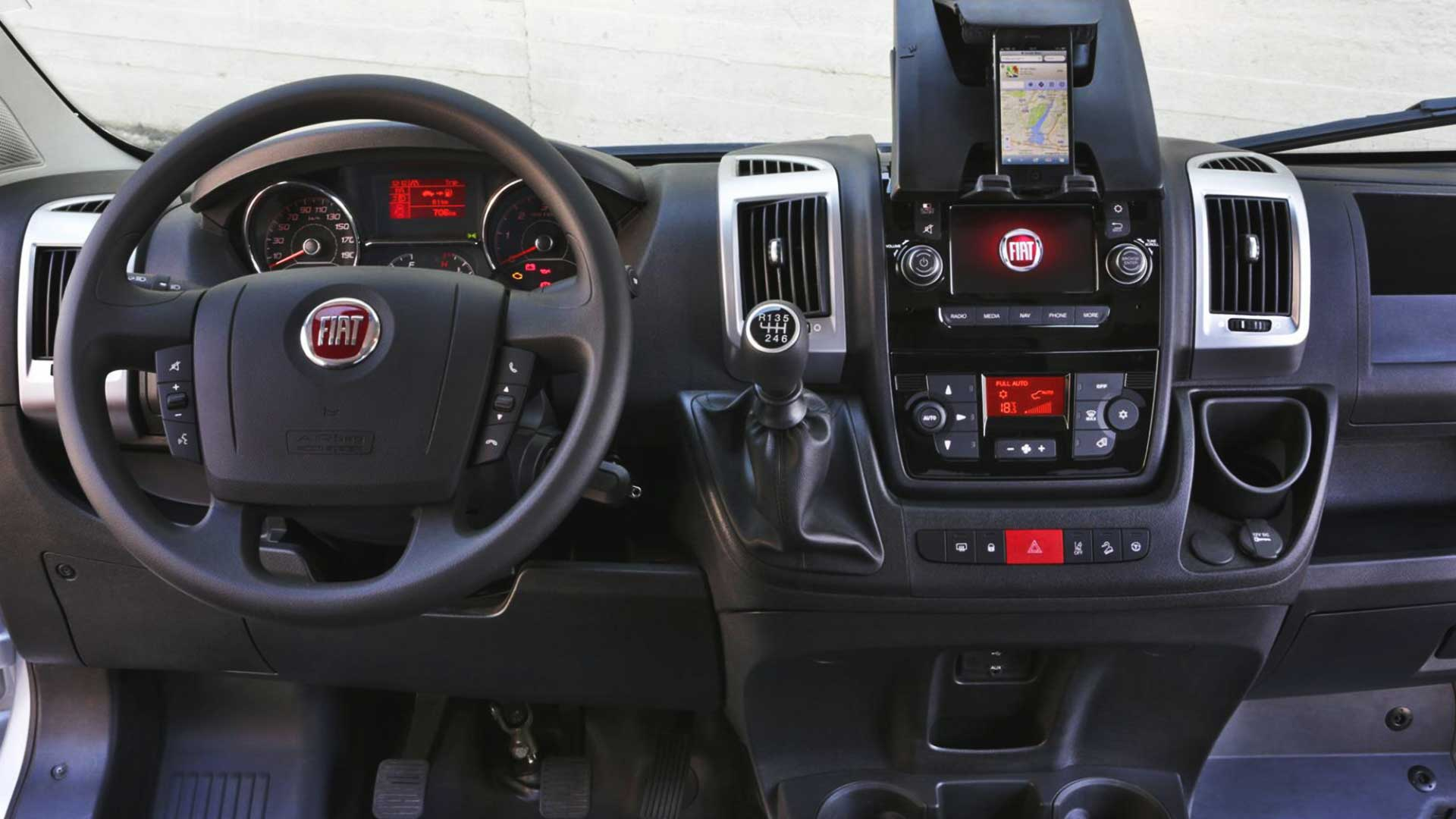 fiat ducato steering wheel lock