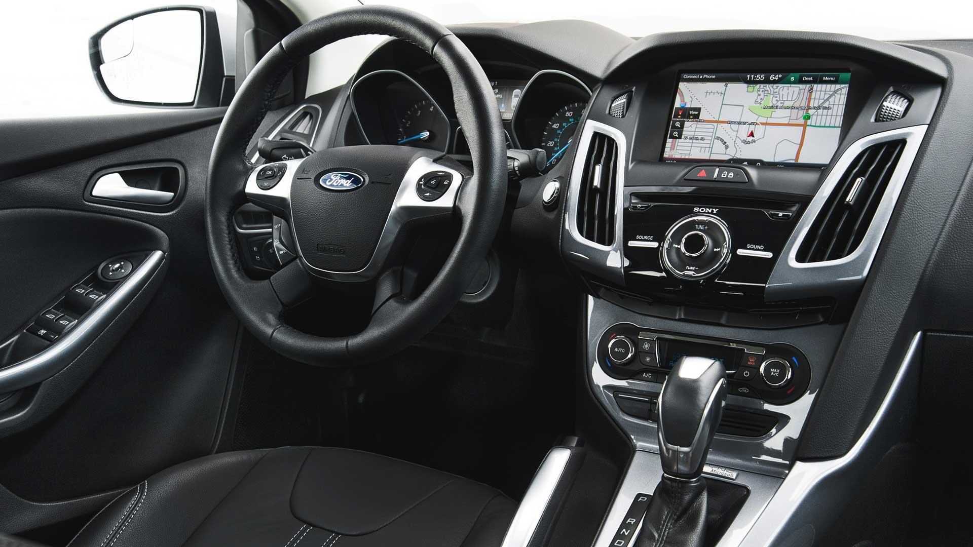 ford focus steering wheel lock