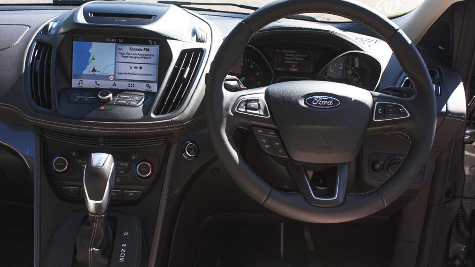 ford kuga steering wheel lock