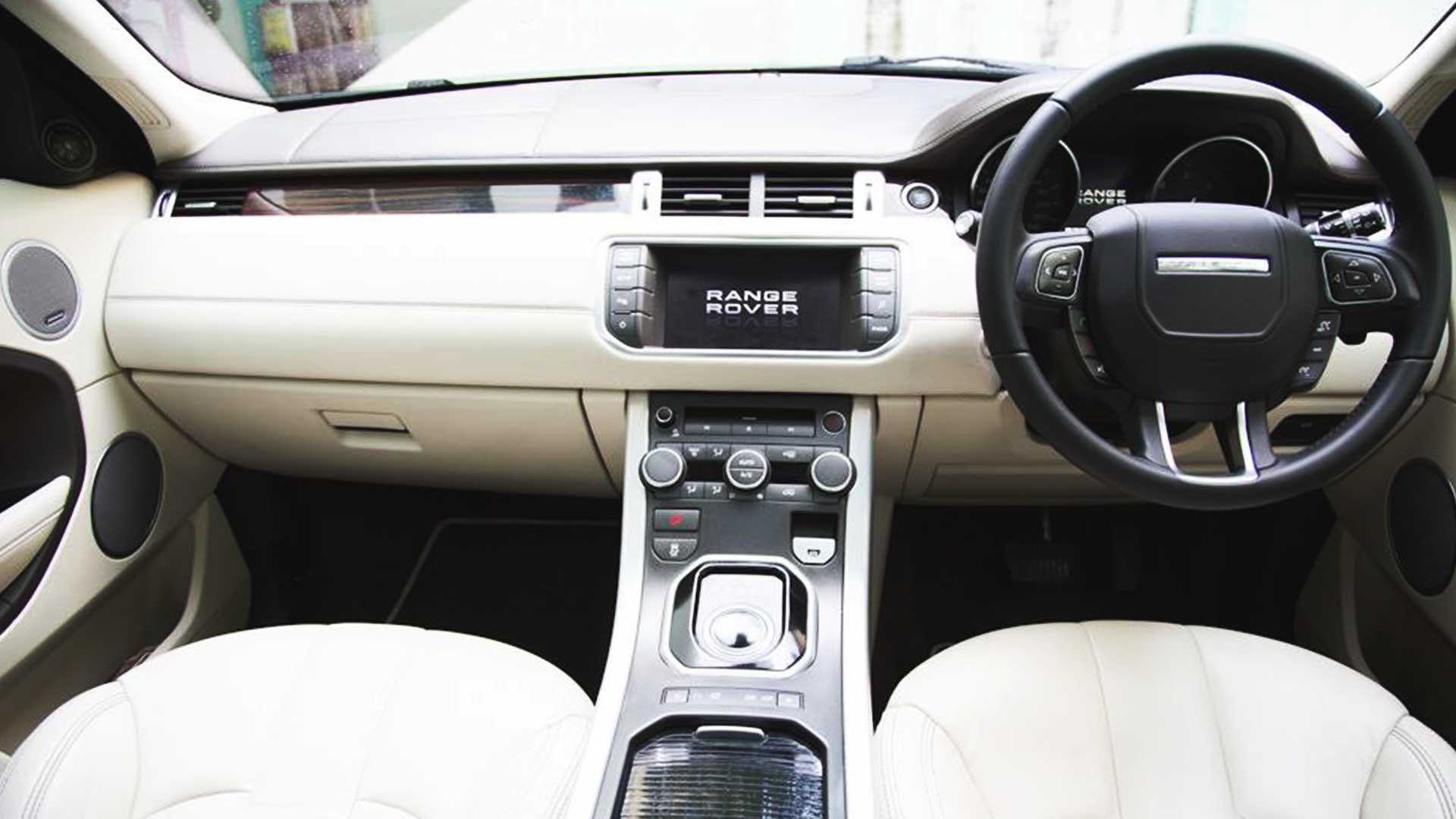 land rover range rover evoque steering wheel lock