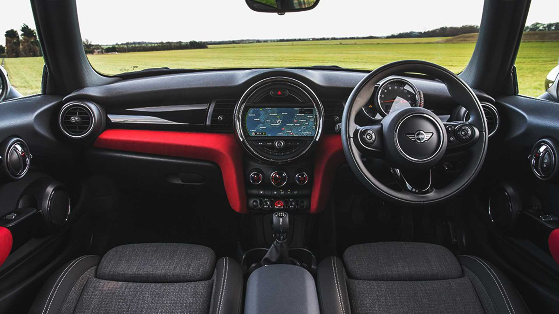 mini cooper steering wheel lock