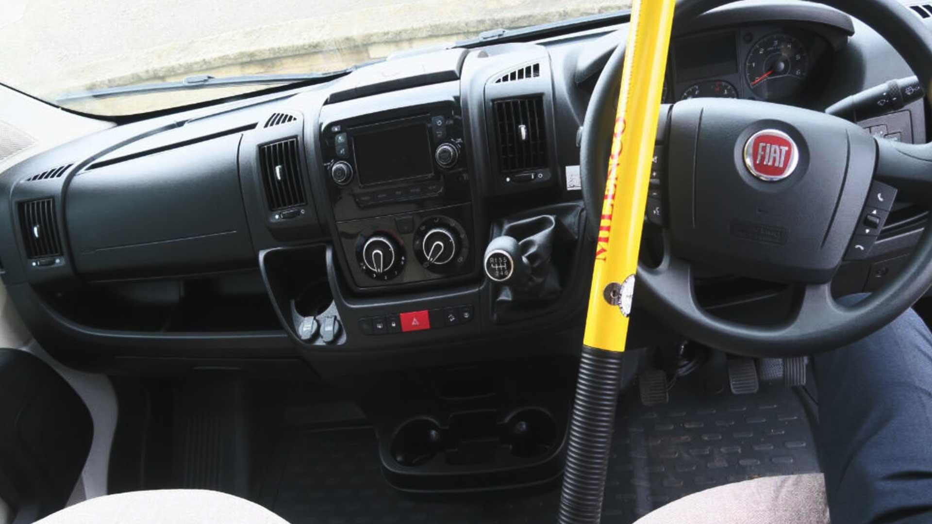 motorhome steering wheel lock