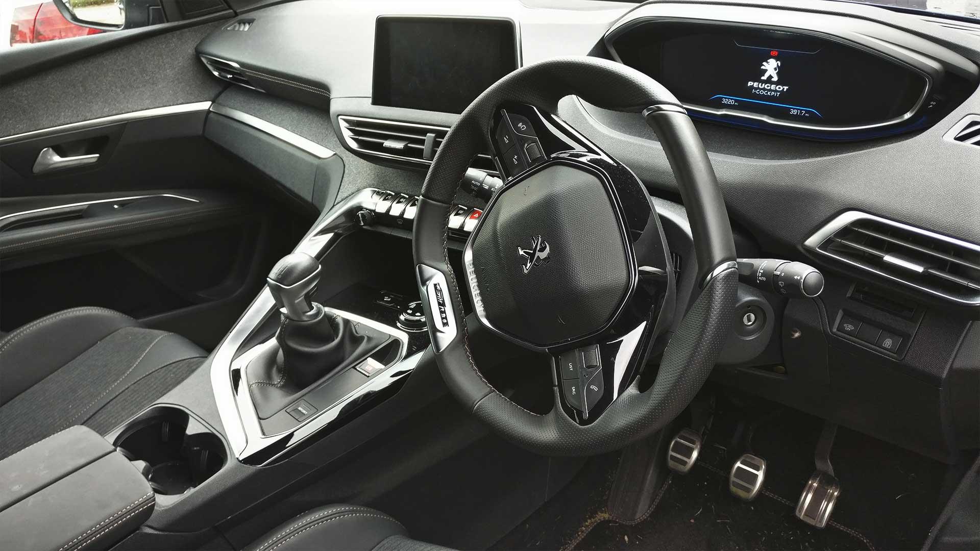 peugeot 3008 steering wheel lock