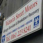 victoria street motors